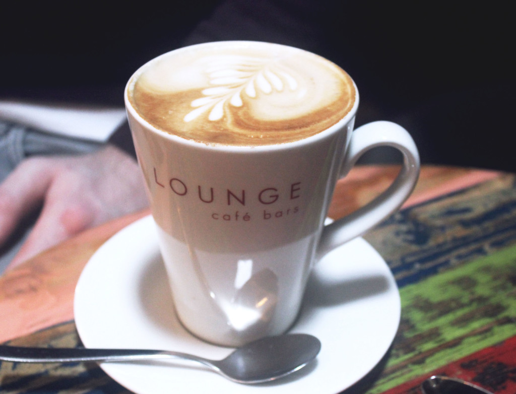 Truro Lounge Cafe cup of coffee