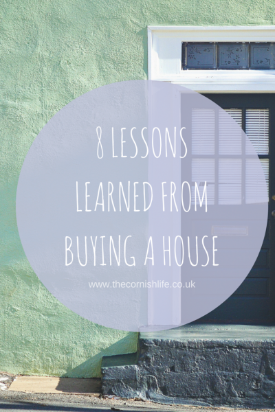 8 Lessons from Buying a House