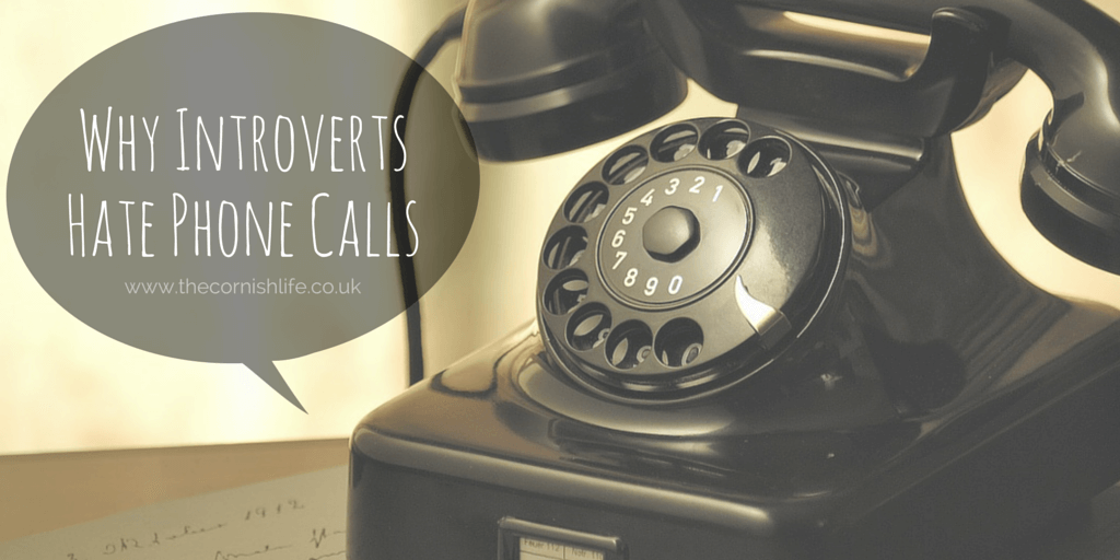 WHY INTROVERTS HATE PHONE CALLS