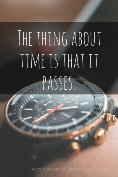 the thing about time is that it passes