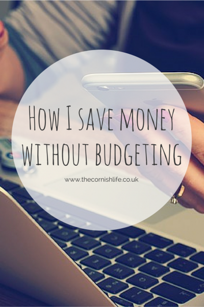 How I save money without budgeting
