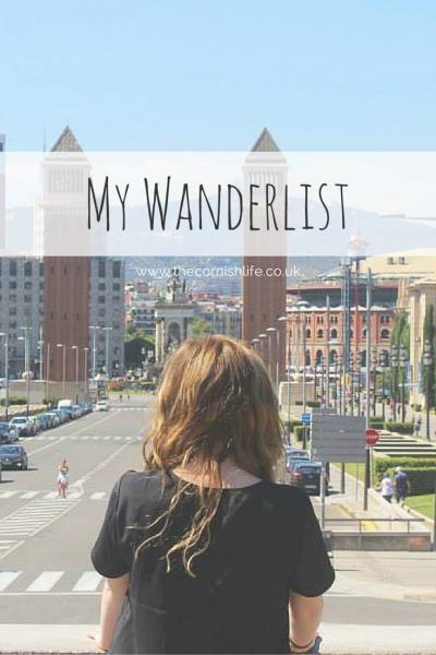 My Wanderlist