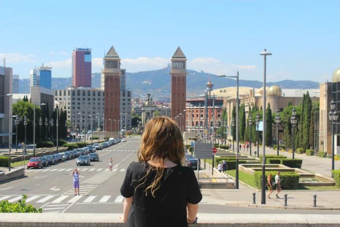 Placa d'Espanya - Barcelona
