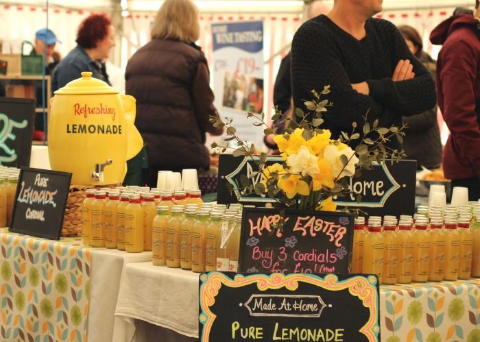 Trereife Easter Fair food