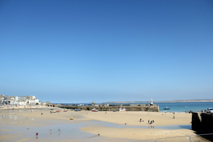 View from Hub balcony in St. Ives