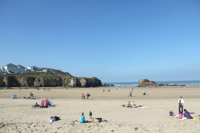 Perranporth Beach (5 Best Beaches in Cornwall)