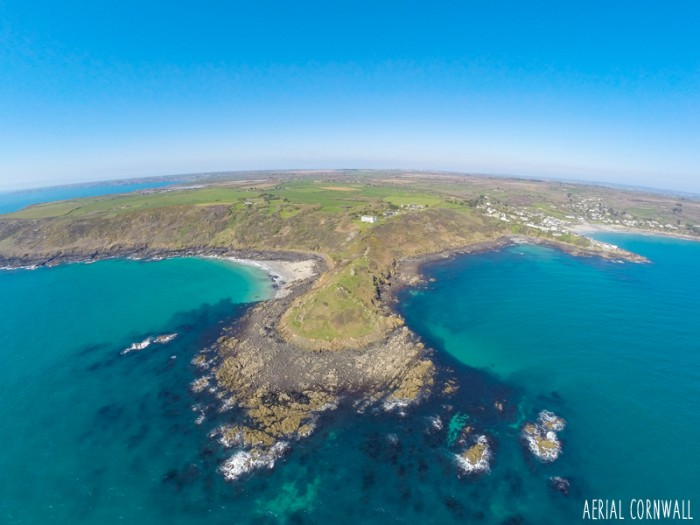 Chynhalls Point by Aerial Cornwall