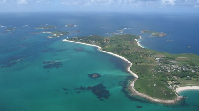 St. Martins Campsite Isles of Scilly