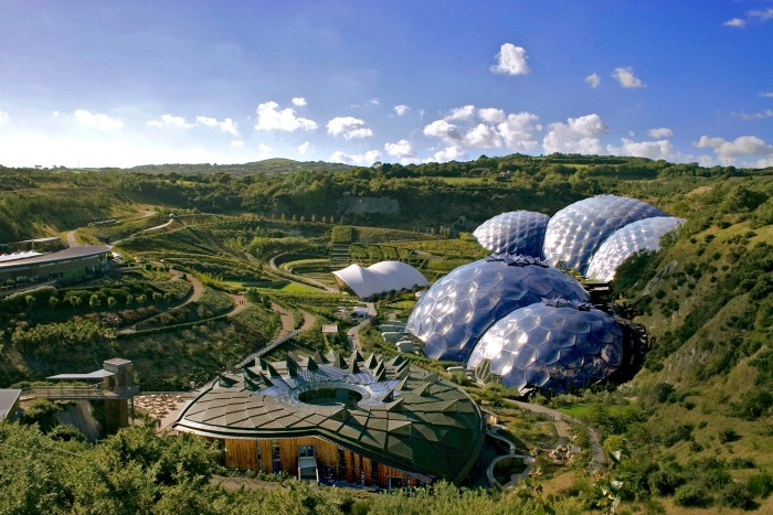 Eden Project - Dog friendly places in Cornwall