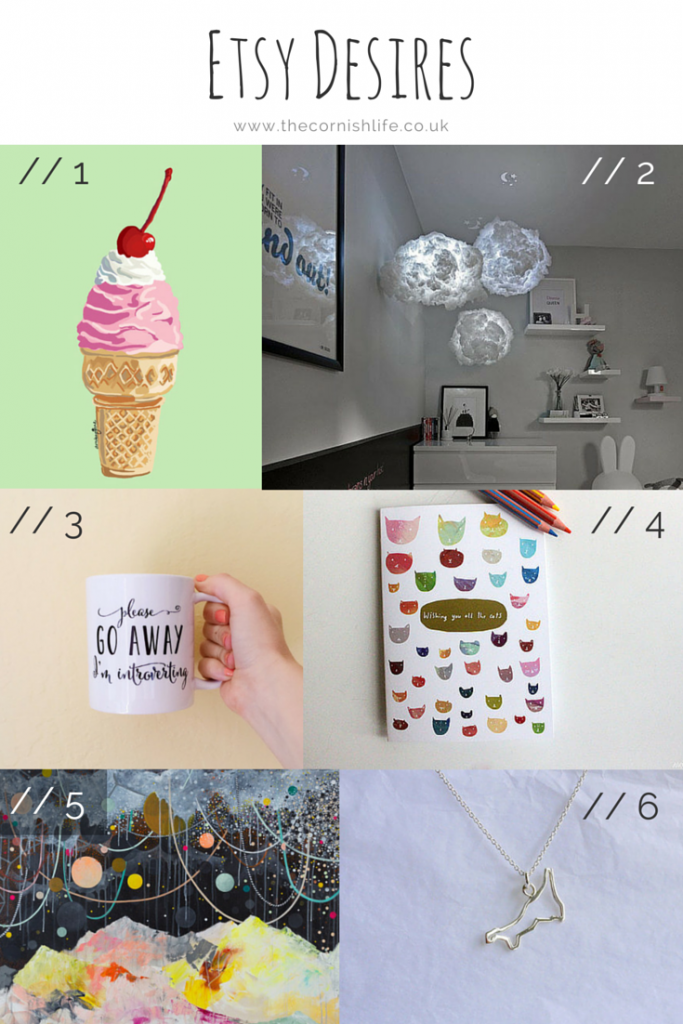 Beautiful things I want to buy on Etsy!