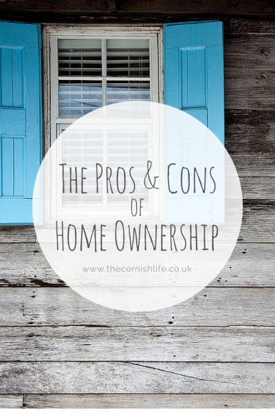 The Pros & Cons of Home Ownership