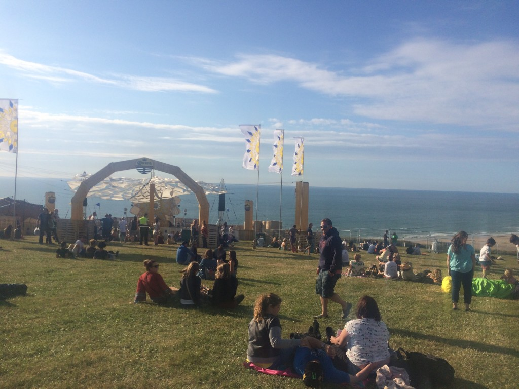 Corona stage at Boardmasters