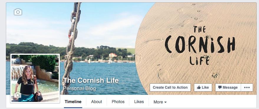 The Cornish Life social media imagery byRosanna
