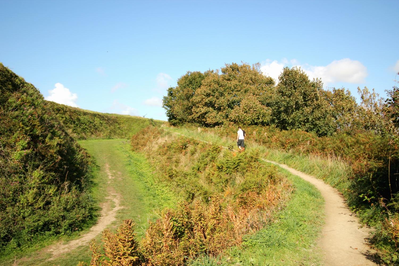 Pendennis Castle walk