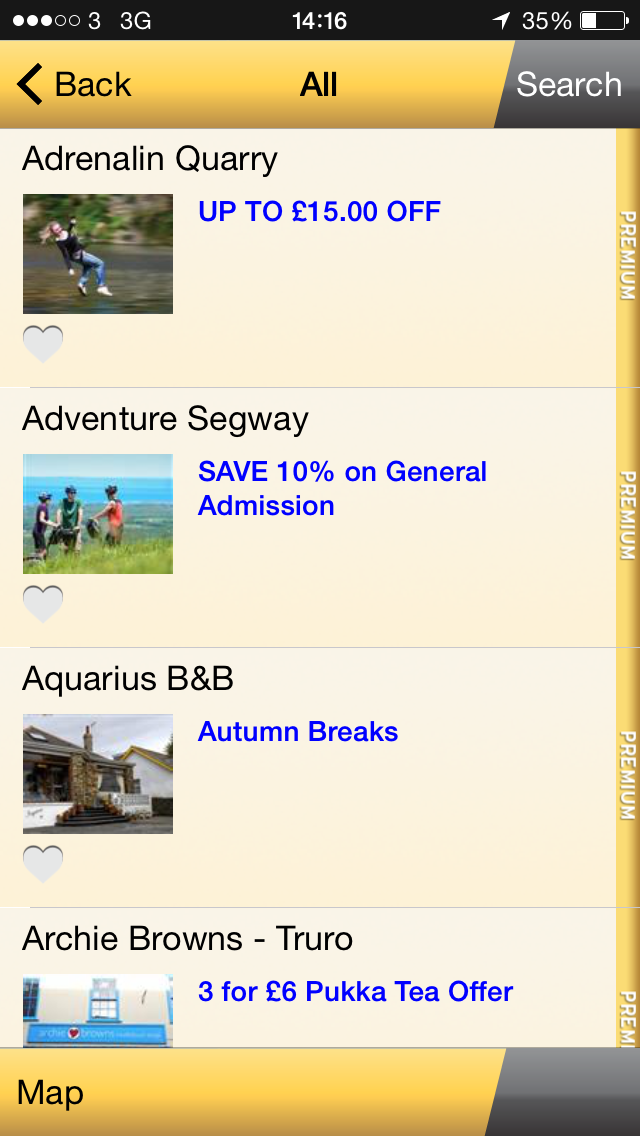 App for Cornwall