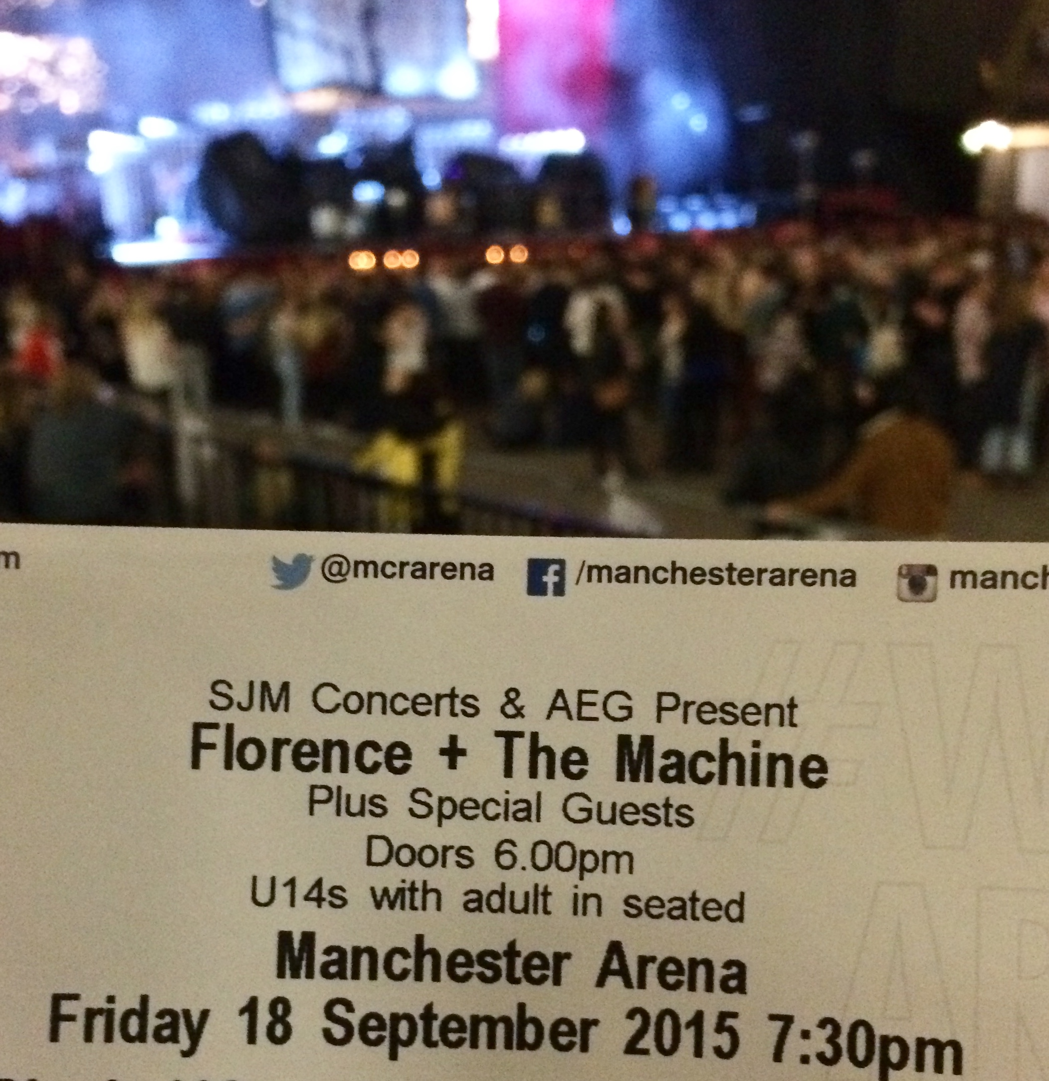 Florence and the Machine 2015 tour!
