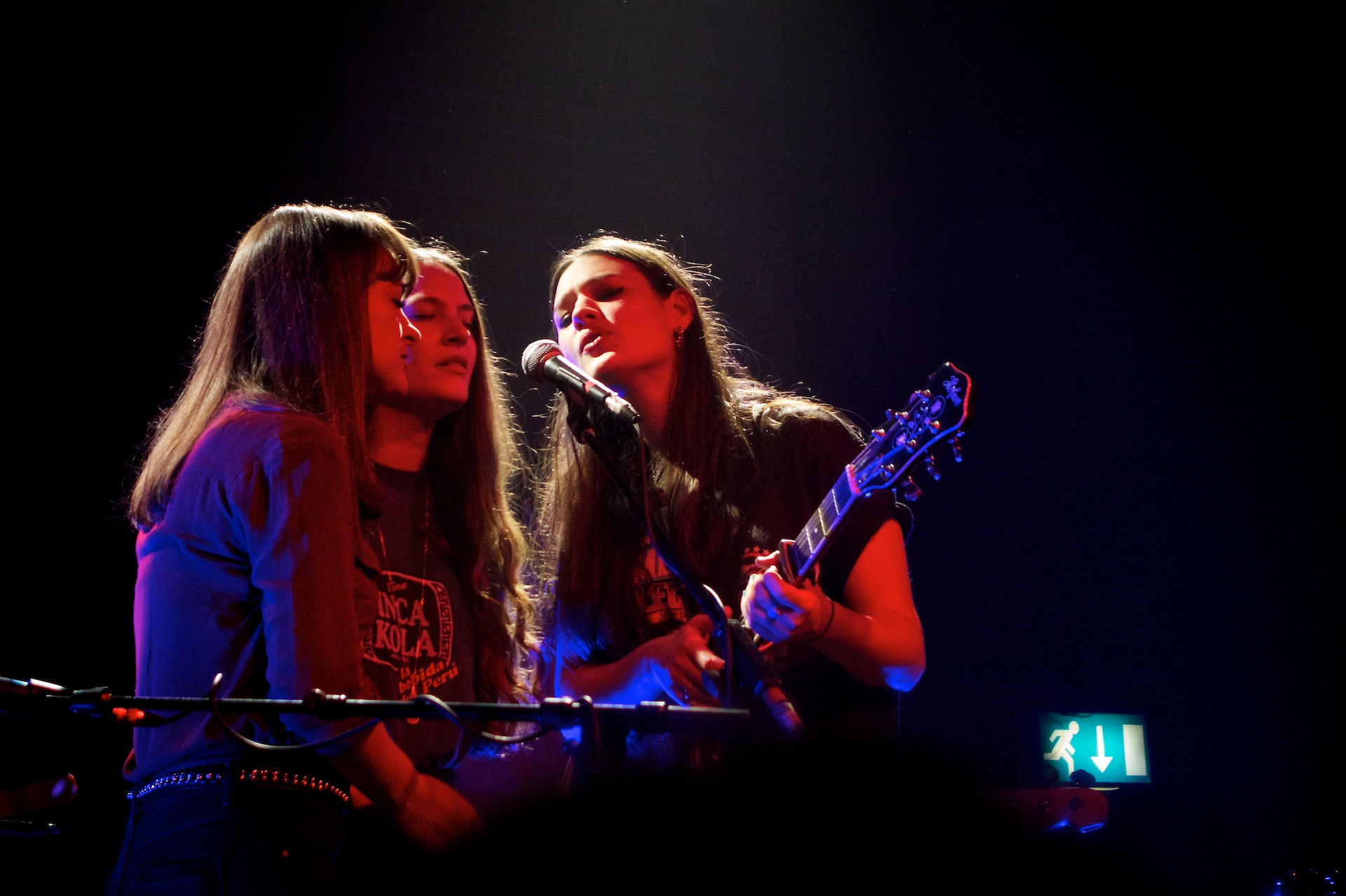 The Staves with Florence and the Machine 2015
