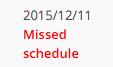 Missed Schedule - thanks wordpress