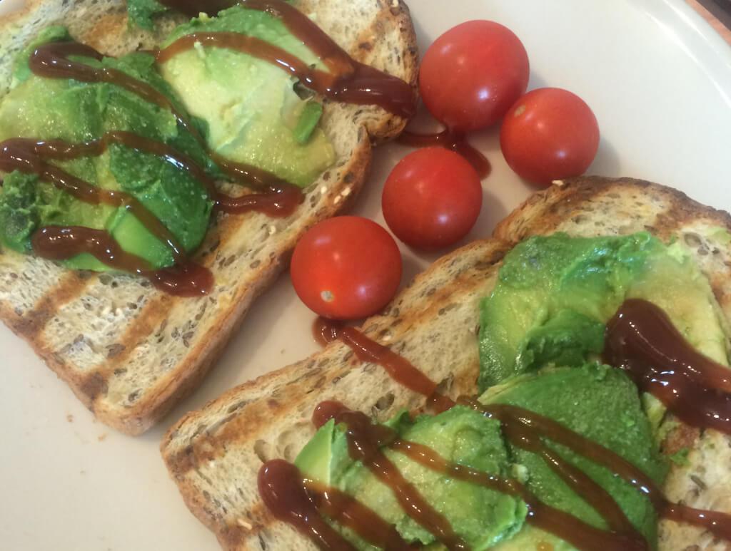 Avocado on toast - vegan