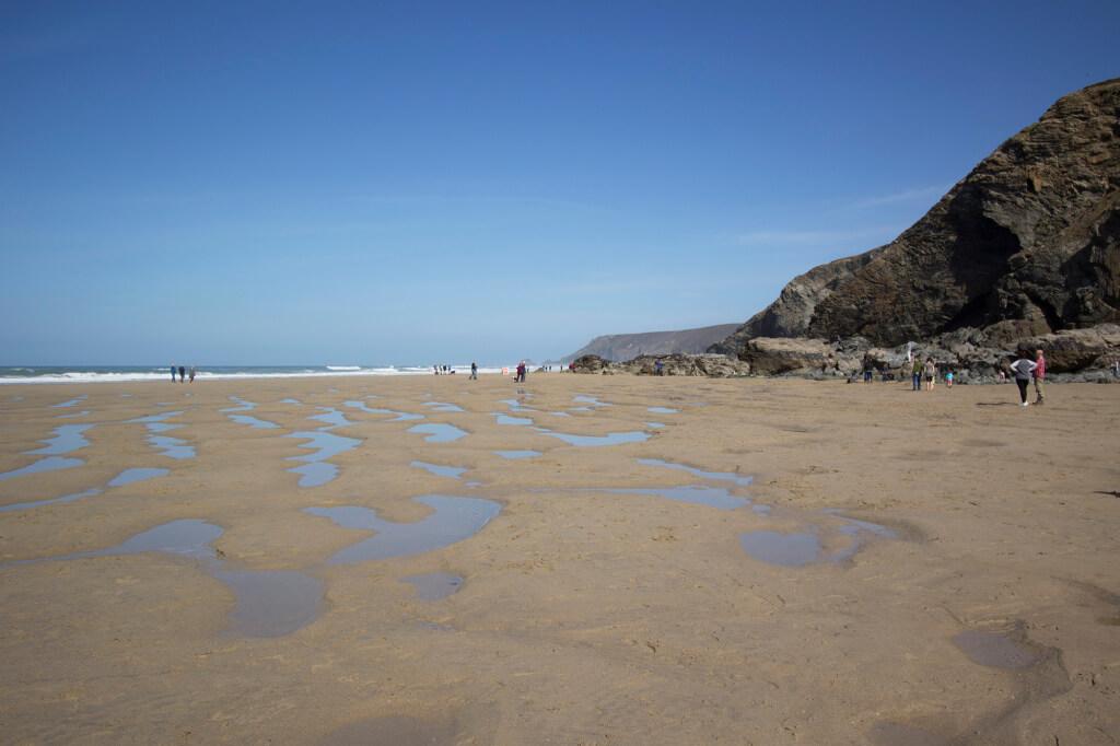 Porthtowan beach