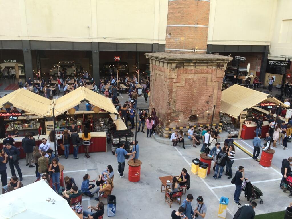 Barcelona Market in Spring
