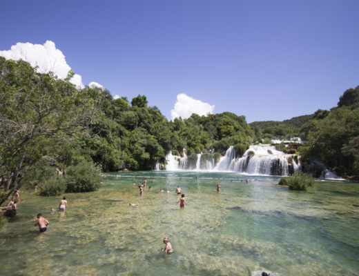 Sibenik and Krka Waterfalls