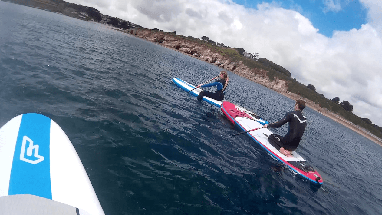 Paddle Boarding & Vegan Food in Falmouth