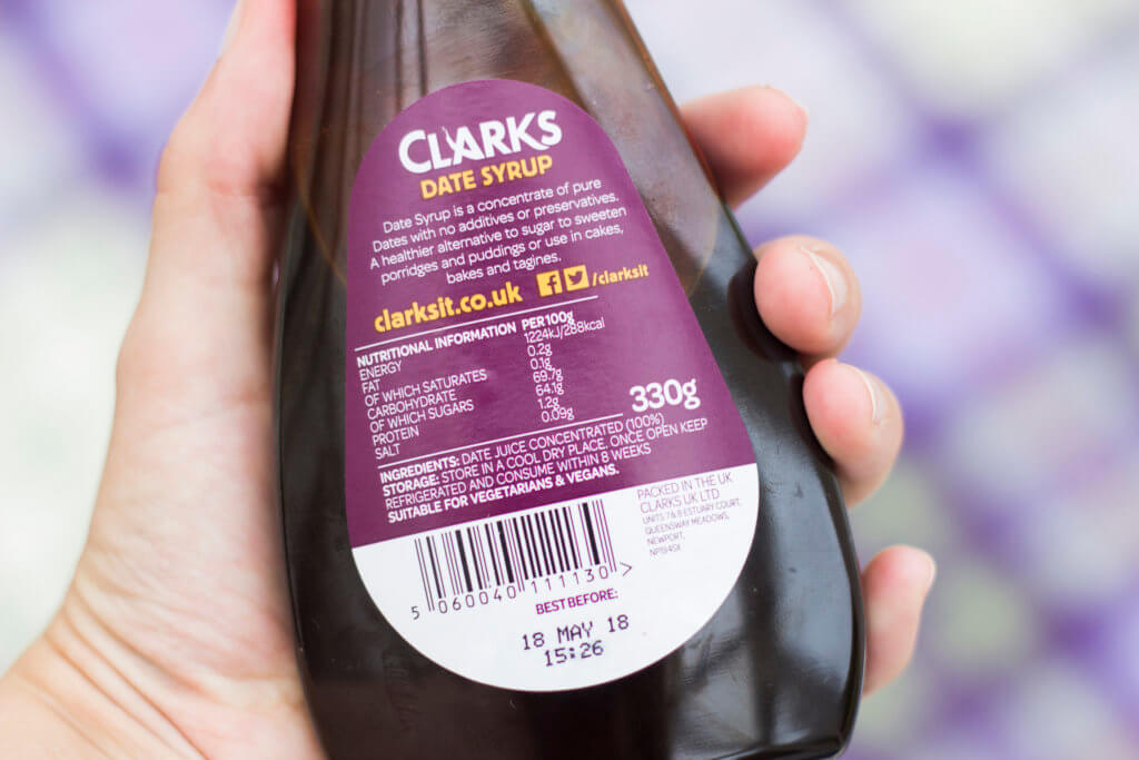 Clarks Date Syrup