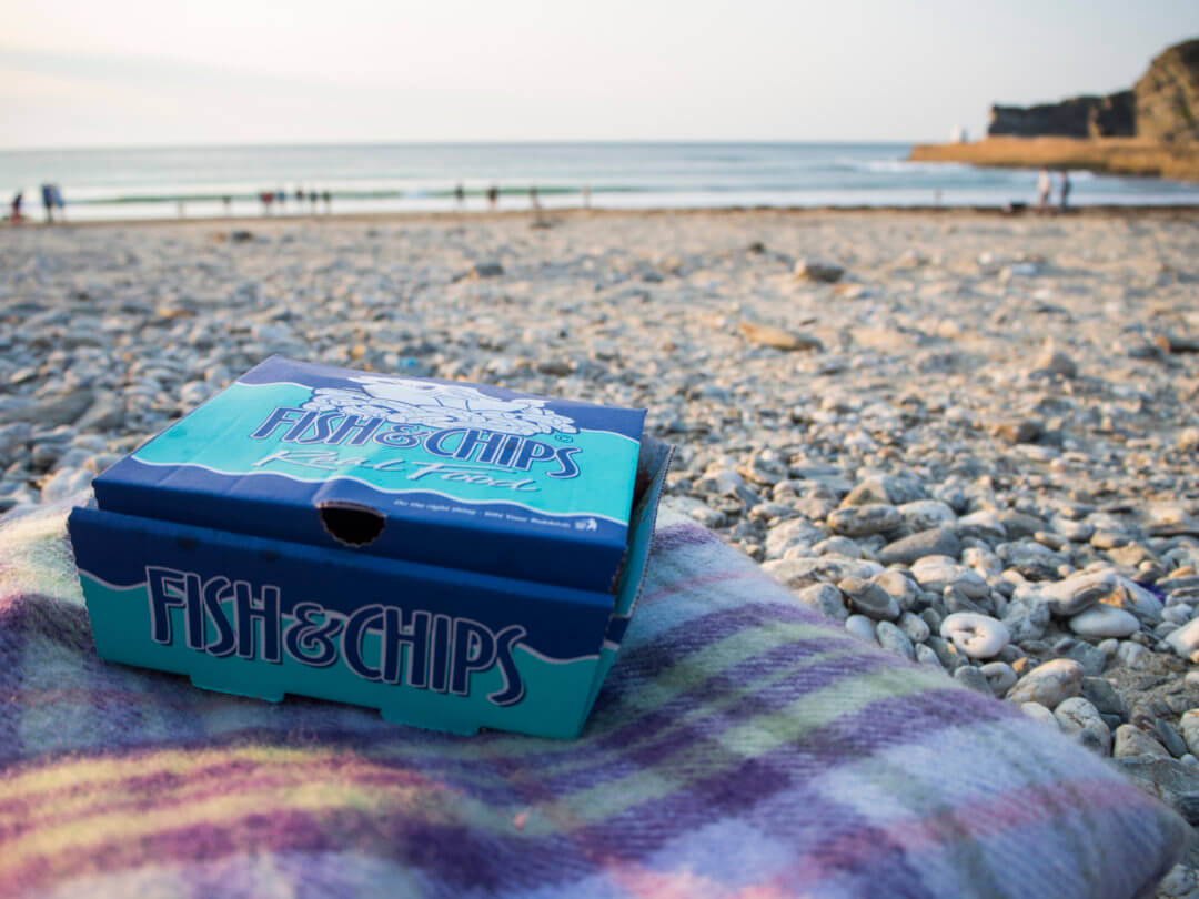 Fish & Chips on The Beach