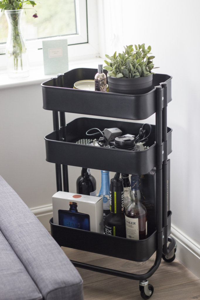 Bar cart from Ikea
