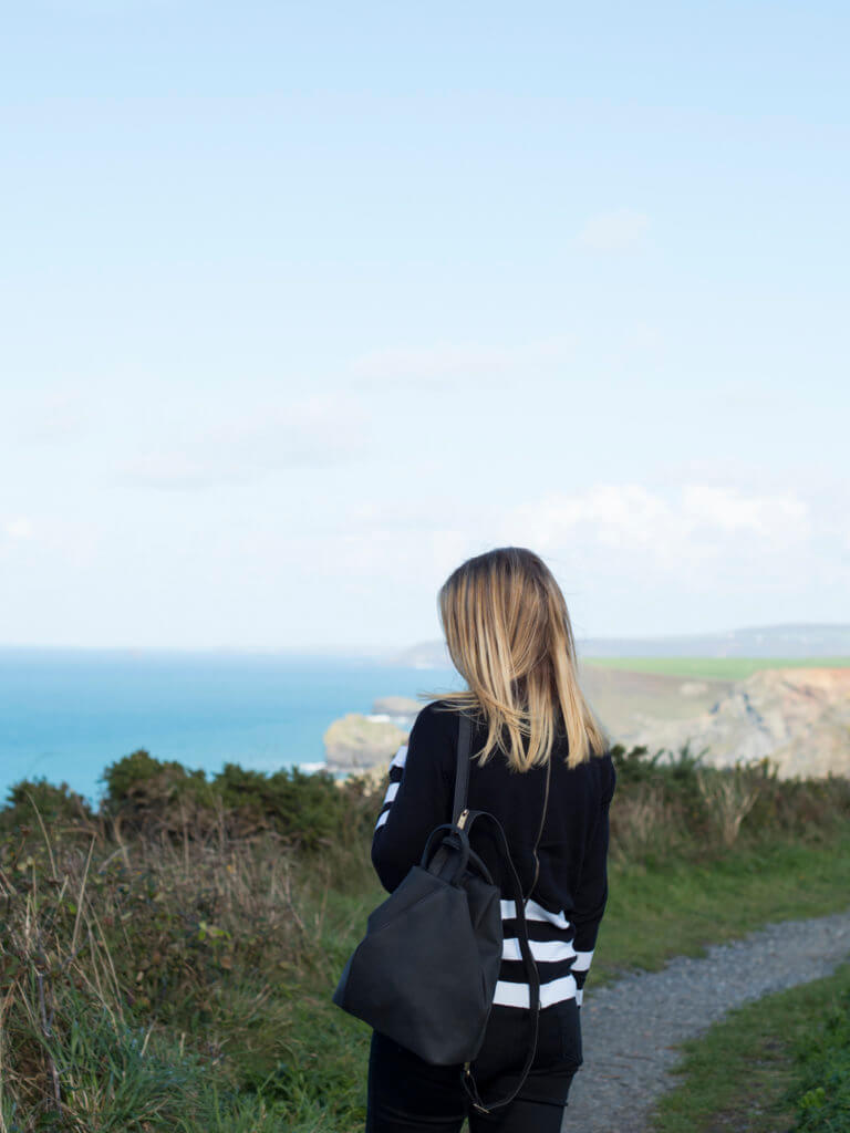 Portreath cliffs walks