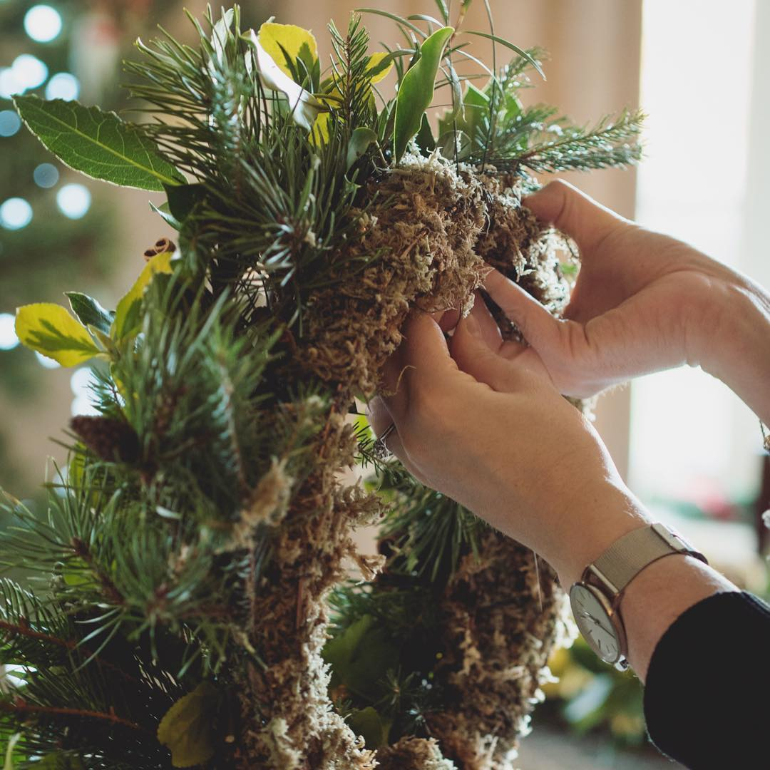 On the blog Wreath Making at the National Trusts Godolphinhellip
