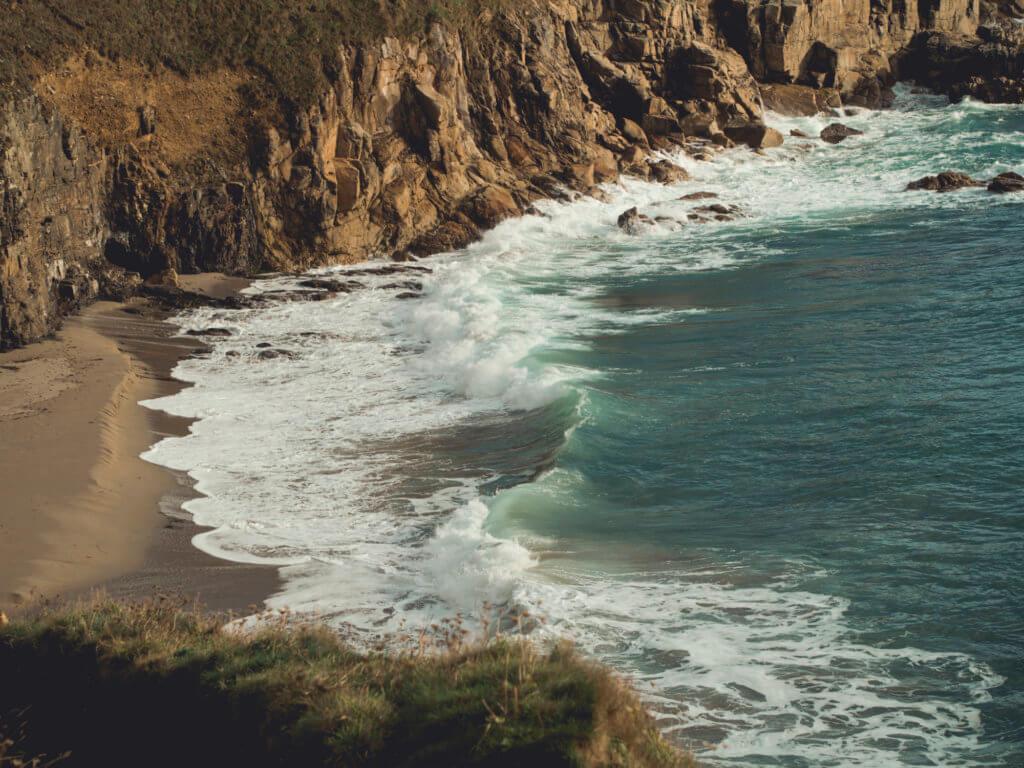 Wild walk on Rinsey Head, Cornwall