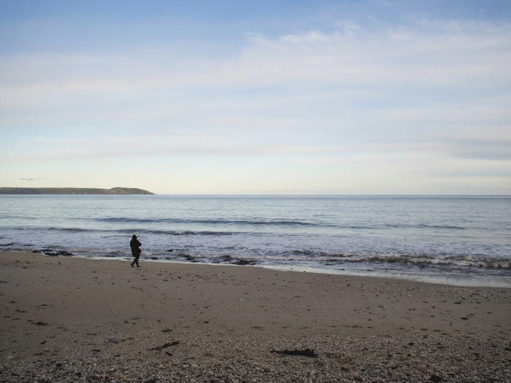 Duporth Beach, St. Austell, Cornwall