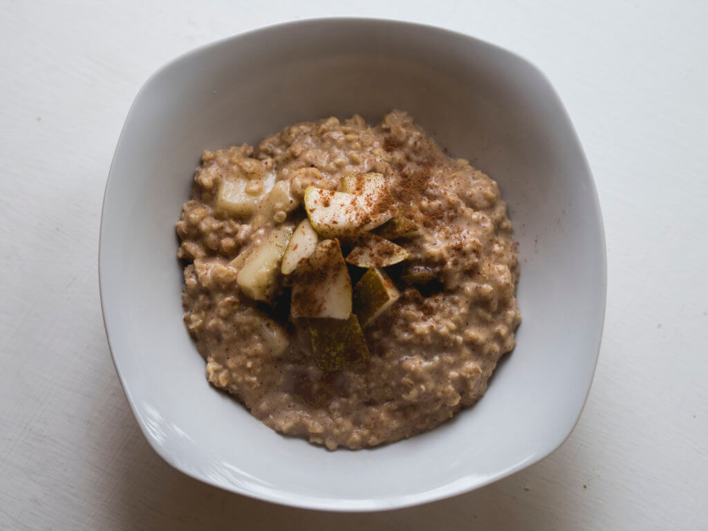Pear & Almond Porridge