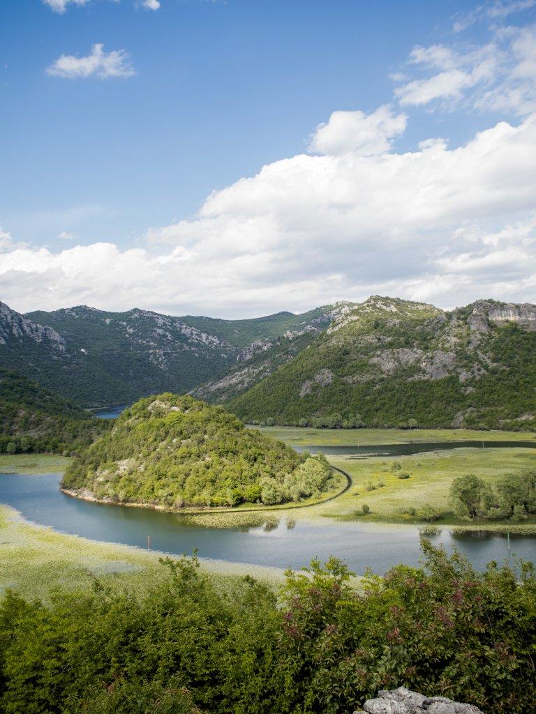 Lake Skadar, Montenegro