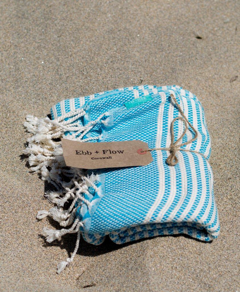 Ebb + Flow Cornwall Hammam towel