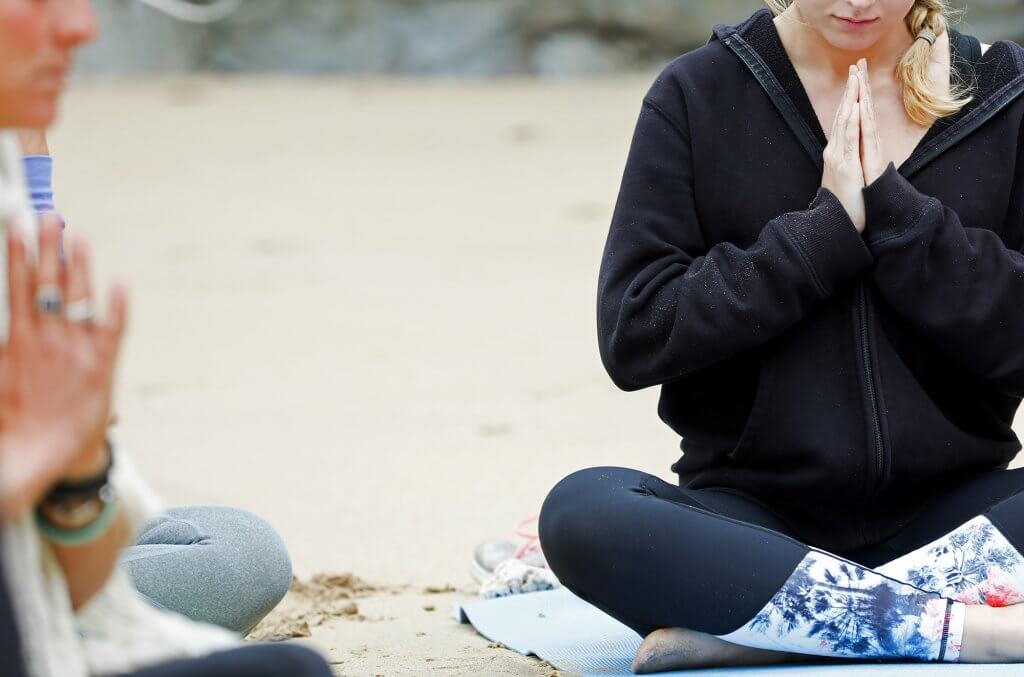 Yoga & Surf at Corinne's Surf Tour