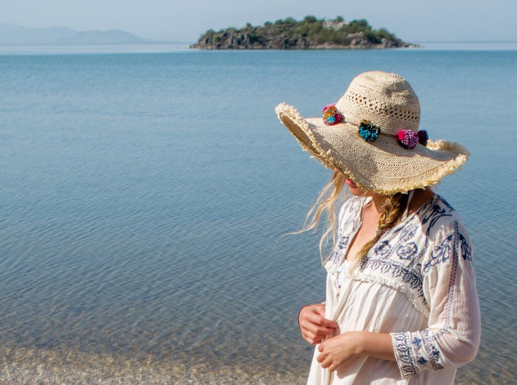 Lake Skadar - White Stuff Beach Coverup