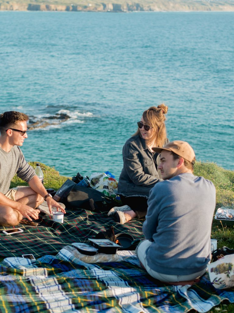 Godrevy picnic