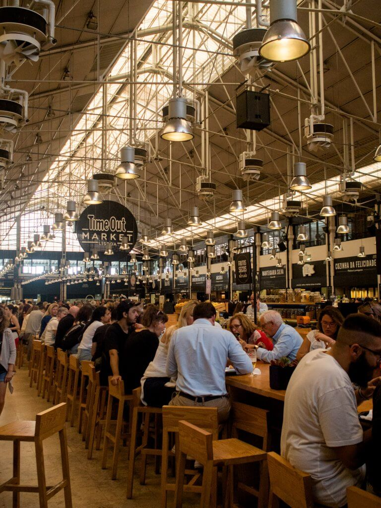 Lisbon Time Out Market