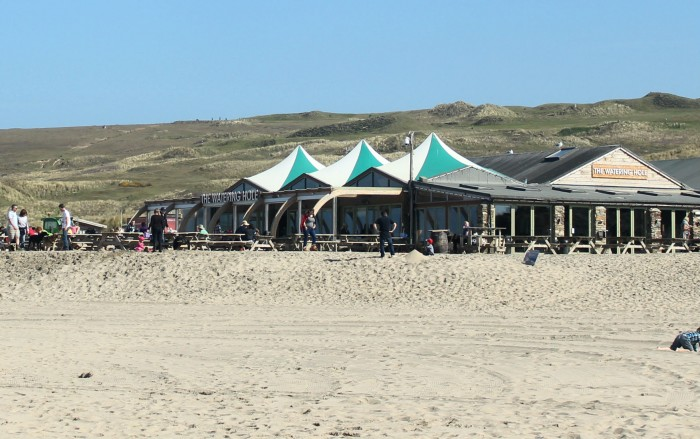 The Watering Hole on Perranporth beach - Dog friendly places in Cornwall