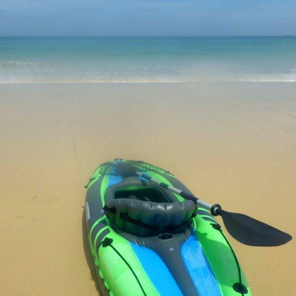 Kayaking at Carbis Bay