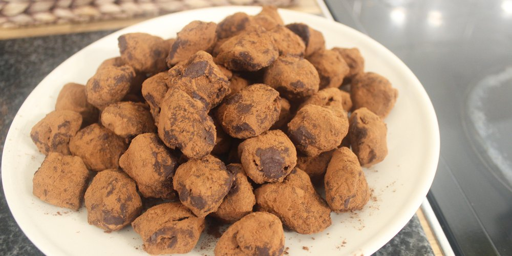 3 ingredient ganache truffle recipe