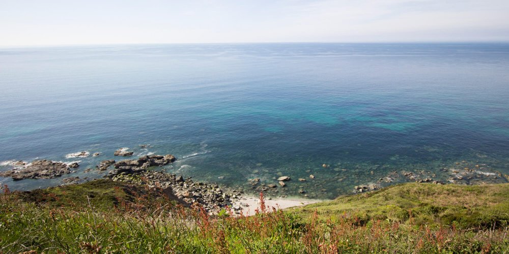 Portreath Cliffs on a Summer Day