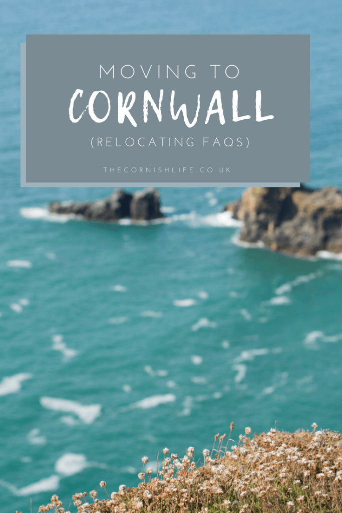 Moving to Cornwall - relocating FAQs
