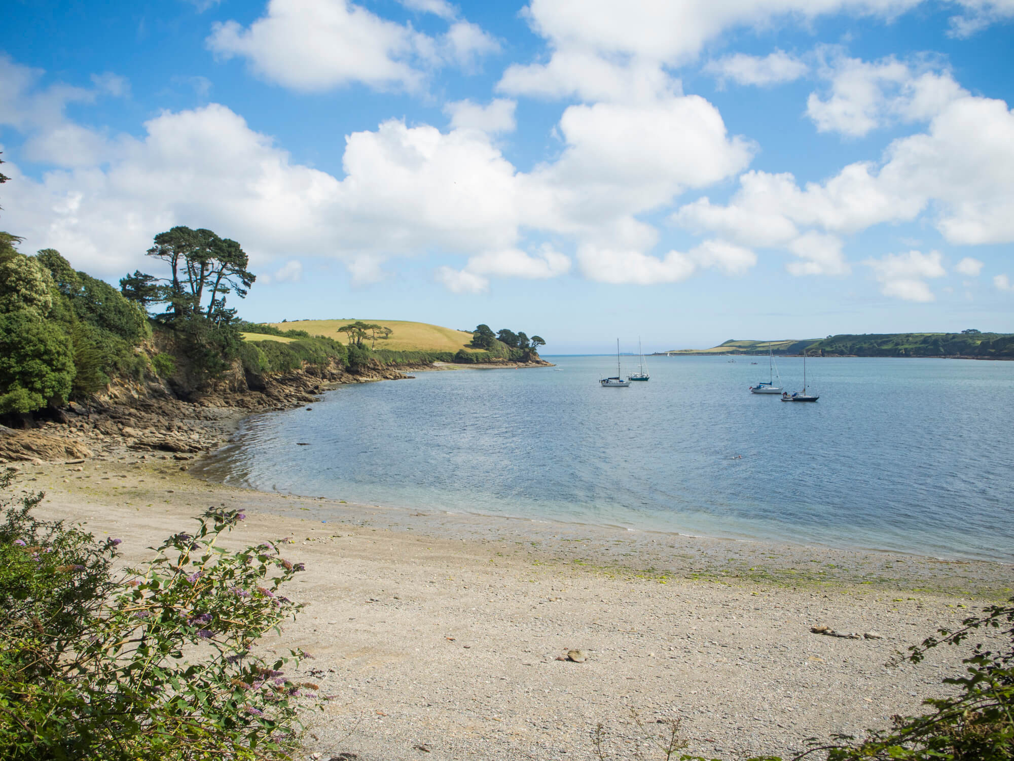 Exploring Helford River: Grebe Beach