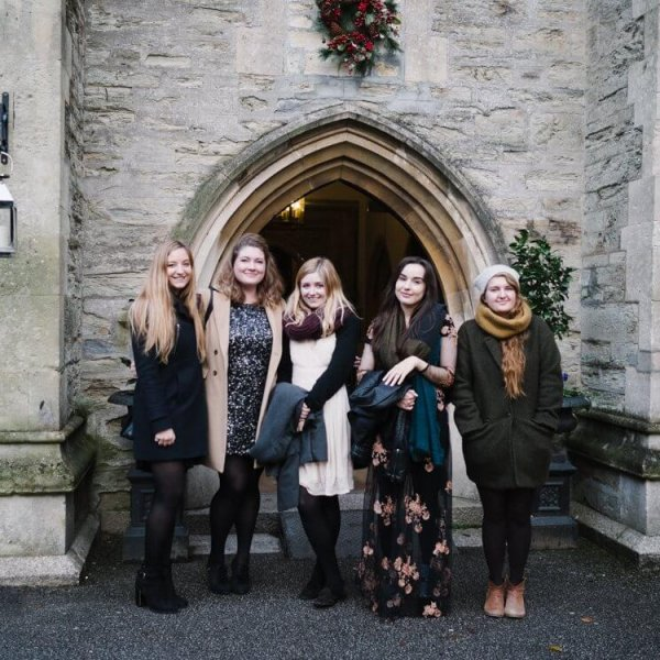 Christmas Lunch at Alverton Hotel, Truro, Cornwall