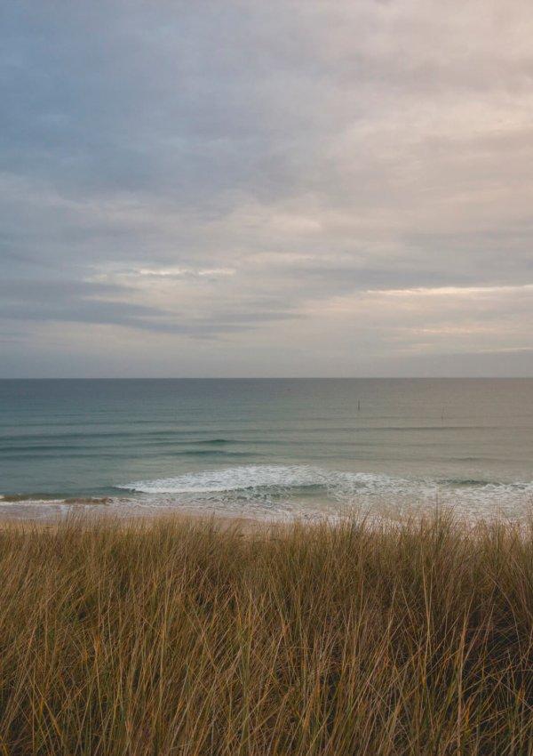 Porthkidney Beach at Sunset