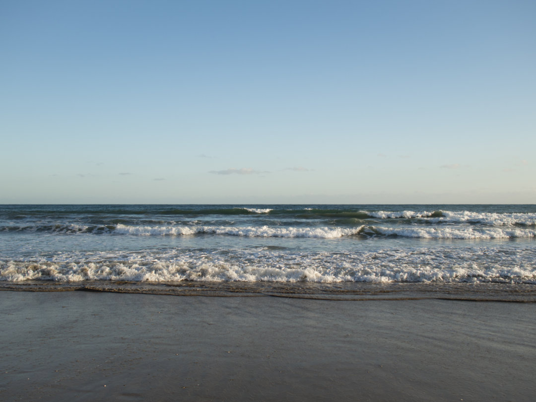 Gylly Beach in January